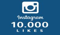 10 الاف لايك انستقرام - instagram - خلال 24 ساعة فقط