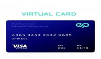 إنشاء بطاقة فيزا افتراضية