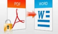 تحويل ملفات الpdf الى word