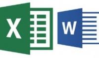 كتابة على Microsoft word - Microsoft Excel