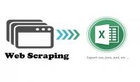 إستخراج آلاف البيانات من صفحات الإنترنت آلياً  Web Scraping