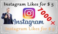 اضافة 7000 الف لايك سريع إلى حسابك Instagram Likes