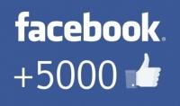 ساقوم بزيادة 5 الاف معجب عربي وحقيقي بصفحتك على الفيسبوك