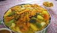 توضيح لك طريقة انشاء اشهر اكلة مغربية  *الكسكس*
