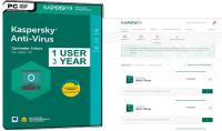 Vendre des cl eacute;s Kaspersky Anti Virus 218