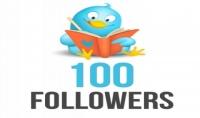 100 لايك  100ريتويت  100 متابع حقيقية وامنة