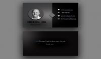 تصميم بطاقة عمل احترافية في أٌقل وقت