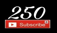 اضافه 250 مشترك لقناتك على اليوتيوب
