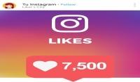 ارسال 7500 لايك لأ صورة لك في الانستغرام