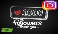 اضافة 1000 متابع انستجرام حقيقي 100% جودة عالية فى اقل من 24ساعة