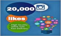 احصل على 20 000 اعجاب لصورتك على انستغرام ب 10$ فقط.
