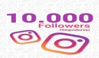 إضافة 10000 متابع عربي حقيقي إلى حسابك في الأنستغرام مقابل 10$