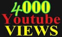 منحك 4000 مشاهدة على اليوتيوب