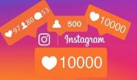 اضافة 2000 لايك انستغرام حقيقي  عربي خليجي .