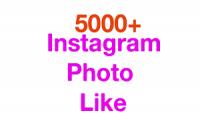 اضافة 5000 لايك سريعة على حسابك انستكرام