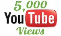 اضافة 5000 مشاهدة حقيقية في اليوتيوب