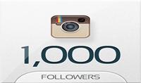 اضافة 1000 متابع انستغرام حقيقي لحسابك بــ