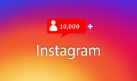 10 000 متابعون في Instagram فقط $5