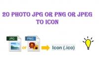 احول لك 20 صورة JPG او PNG الى ايقونات ICON ذات جودة عالية