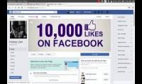 زيادة اكثر من 5000 لايك على صفحتك على الفيس بوك