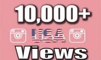 10000 مشاهدة أمريكية حقيقية لفيديو انستعرام