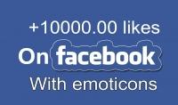 اضافة 10.000 الاف لايك على منشوراتك أو صورك على الفيس بوك