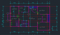 ارسم منزلك بالاتوكاد 2D