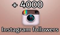 4000 متابع حقيقى  100% على انستقراااام Followers