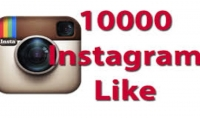 اضافة 10000 لايك الى مجموعة صور في حساب واحد الانستغرام ب 5$