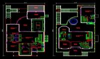 رسم المخططات الهندسه المعماريه ببرنامج اوتوكاد autocad