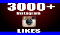 3000 لايك على صور او فيديوهات انستقرام