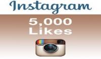 lrm;اضافة 5000 الف لايك الى 5 صور من اختيارك لحسابك في الانتسغرام lrm;