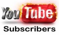 أقدم لك  1000 مشترك حقيقي ومضمون  لقناتك علي اليوتيوب
