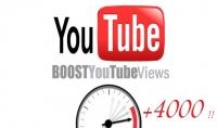 4000 مشاهدة على يوتيوب فى 24 ساعة