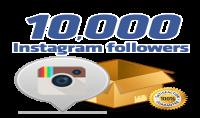 اضافة 10000 متابع لحسابك فى انستجرام ب 10$