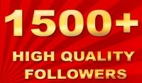 اضافة 1500 متابع اجنبي لحسابك علي أنستغرام
