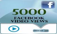 5000 مشاهدة في الفيسبوك