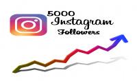 5000 متابع على انستغرام جودة عالية ومتفاعلين