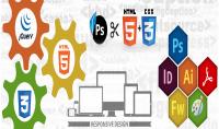 تحويل اي ملف PSD الى صفحة   JQuery  Bootstrap 4   HTML5   CSS3