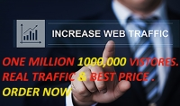 جلب مليون زائر حقيقى 1000 000 لموقعك او مدونتك خلال 15 يوم