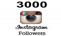 اضافة 3000 متابع اجنبي لحسابك علي أنستغرام