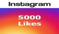 بإرسالك لك 5000 لايك لصورتك على لأنستقرام