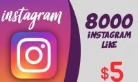 اضافة 8000 اعجاب الى صورتك على instagram