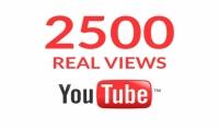 أضافة 2500 مشاهدة الى الفديو الخاص بك على يوتيوب