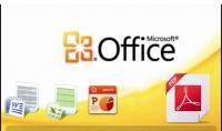 استخدام برنامج مايكروسوفت وورد واكسل وبوربوينت وبرنامج prezi و برنامج pdf