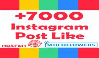 اضافة 7000 لايك للأنستغرام