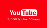 5000 مشاهدة للفيديو الخاص بك في اليوتيوب