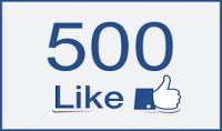 500 اعجاب بصفحتك علي الفيس بوك ب5 دولار فقط