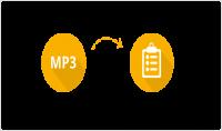 تفريغ الملفات الصوتية إلى ملفات نصية