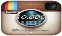 10000 لايك إنستغرام